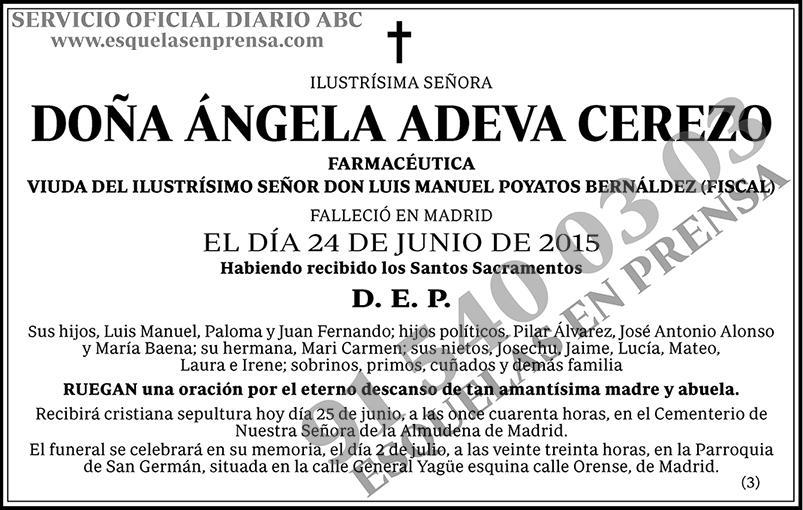 Ángela Adeva Cerezo